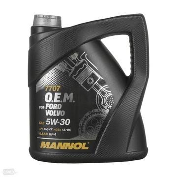 Масла двигателя 5w-30 4l mn7707-4 mannol, фото