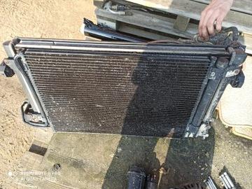 Комплект радиаторов audi a3 8p 2. 0fsi автомат, фото