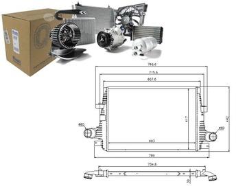 Интеркулер alfa romeo 159 sportwagon 1.8 tbi (939, фото