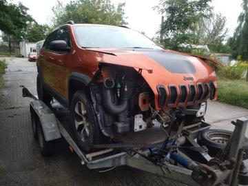 Jeep cherokee trailhawk kl 14- зеркало правое европа, фото