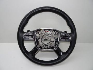Kia sorento 3 рестайлинг руль лепестки обогрев, фото