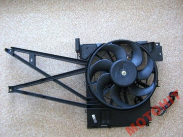 Вентилятор радиатора opel vectra b 1.6 1.8 2.0 2.5, фото