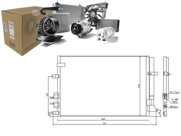 Конденсатор кондиционера alfa romeo 159 1.8 mpi (939, фото