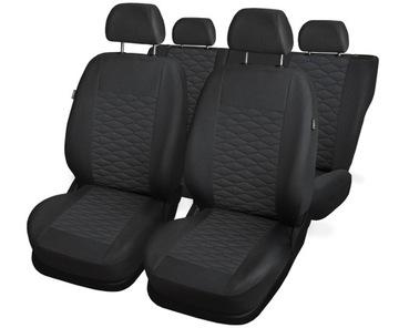 Чехлы серые на сиденье до vw t-roc, фото