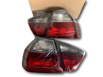 Оригинал bmw фонари задние bmw 3 e90 седан черный line, фото