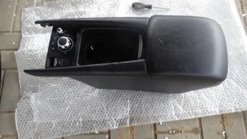 Mazda 6 3 центральная консоль подлокотник кожа, фото