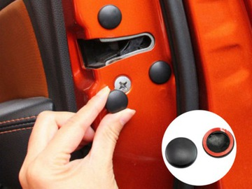 Заклёпка клипса защита дверь защитная mitsubishi kia, фото