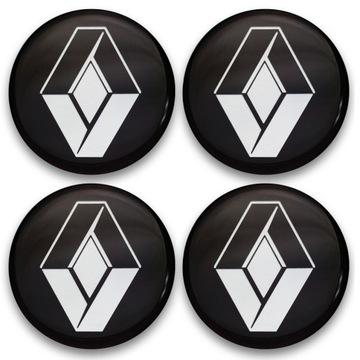Значки эмблемы на диски до renault 62mm 4шт, фото
