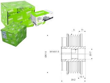 Сцепление генератор alfa romeo 159 2.4 jtdm (939), фото