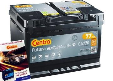 Аккумулятор центра futura 77ah 760a новая модель, фото