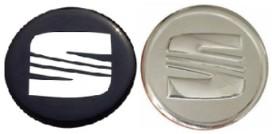 Seat наклейки значки диски колпачки колпаки 60mm, фото