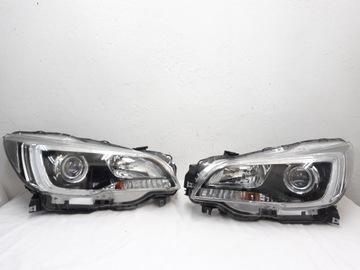 Subaru outback 5 фонаря полный светодиод европейские, фото