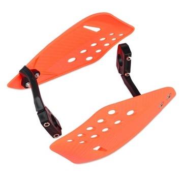 Накладки handbary ktm защиты dloni оранжевое, фото