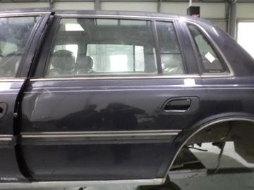 Lincoln continental дверь задняя левая, фото