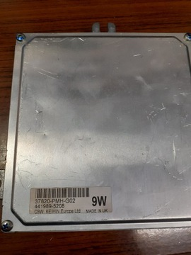 Компьютер контроллер honda 37820-pmh-g02, фото
