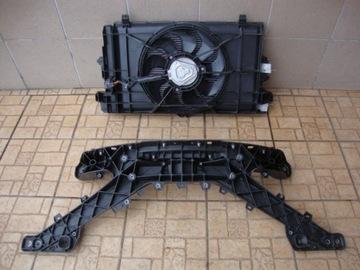 Tesla 3 набор радиатор з вентилятором панель передняя, фото