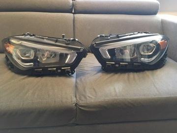 Mercedes cla w118 performance полный светодиод америка фонаря, фото