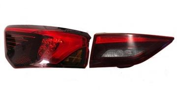 Фонарь левый задний toyota avensis t29 светодиод, фото