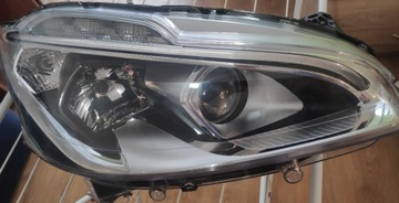 Фара светодиод правая передняя peugeot 208 рестайлинг 15 - 19, фото