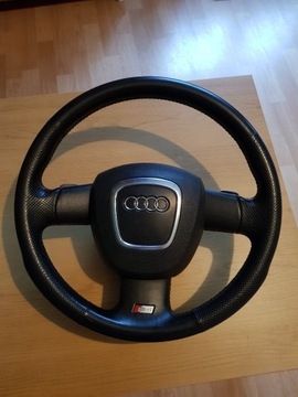 Audi a4 s4 b7 руль лепестки подушка, фото