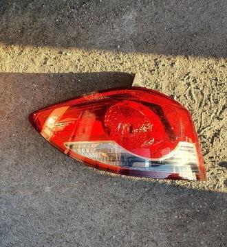 Фонарь левый задний chevrolet cruze хетчбек 2011, фото