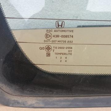 Honda civic x седан стекло заднее назад, фото