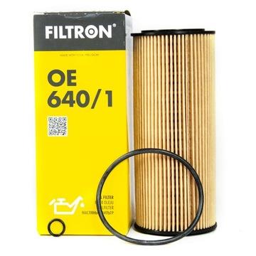фильтр масла filtron oe640/1 до audi seat vw - фото