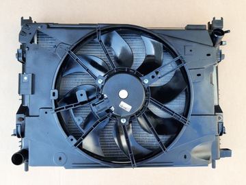комплект радиаторов вентилятор dacia duster - фото
