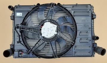 комплект радиаторов вентилятор vw t-roc 2.0tsi - фото
