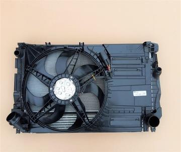 комплект радиаторов вентилятор bmw x1 f48 18i 20i - фото