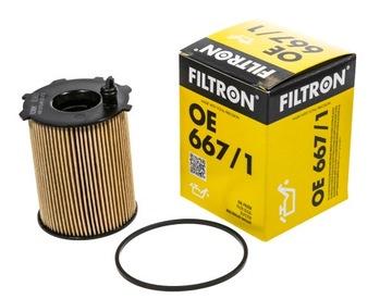 фильтр масла filtron oe 667/1 - фото