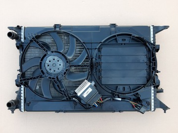 комплект радиаторов audi q3 8u q5 8r a4 b8 8k a5 8t - фото