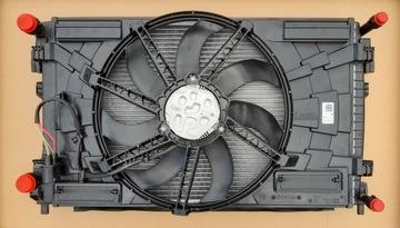 комплект радиаторов vw passat b8 3g 1.4tsi 1.5tsi - фото