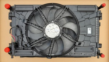 комплект радиаторов вентилятор vw t-roc 1.5tsi 2.0tdi - фото
