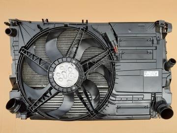 комплект радиаторов вентилятор интеркуллер bmw x1 f48 - фото