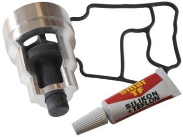 клапан уплотнитель фильтр масла до bmw m52b28 m54 - фото