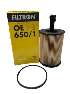 фильтр масла filtron oe650/1 vw audi seat skoda - фото