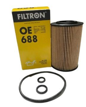 фильтр масла filtron oe688 audi seat skoda vw 2, 0td - фото