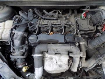 комплектный двигатель hhda fiesta mk6 1.6tdci - фото