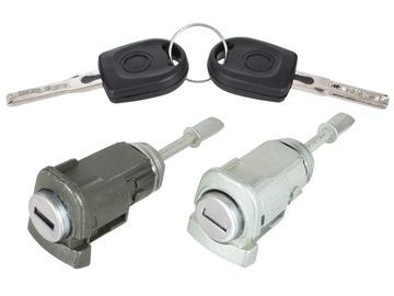ремкомплект замка левый+ правый 2шт комплект vw passat b5 1996-2005 - фото