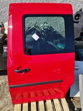 двери боковое левое vw caddy iii комплект красное ly3d - фото