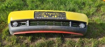 бампер перед передний vw lupo туманки жолтый - фото