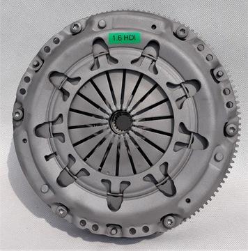 сцепление жосткое 1.6 hdi/tdci kompl. комплект gwar - фото