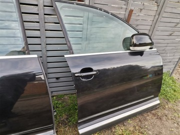 двери правый перед комплект vw touareg черный met lc9z - фото
