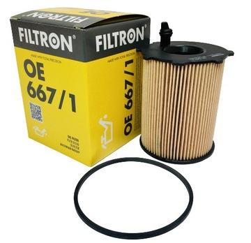 фильтр масла filtron oe667/1 - фото