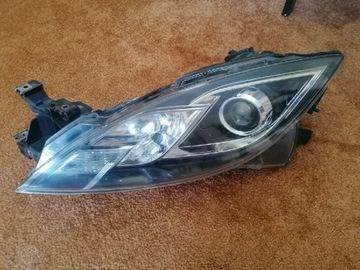 lampa/reflektor передняя левая mazda 6 gh - фото