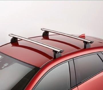 оригинальные багажник на крышу mazda cx-3 cx3 thule - фото