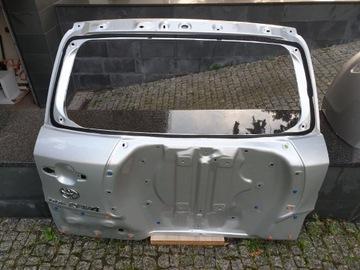 toyota rav4 2006-2012 задняя крышка багажника на коло серебренная - фото