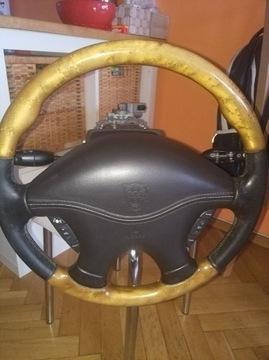 руль jaguar s-type skora-drewna / рулевая колонка - фото