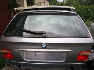 крышка багажника багажник bmw e46 универсал silbergrau metallic - фото